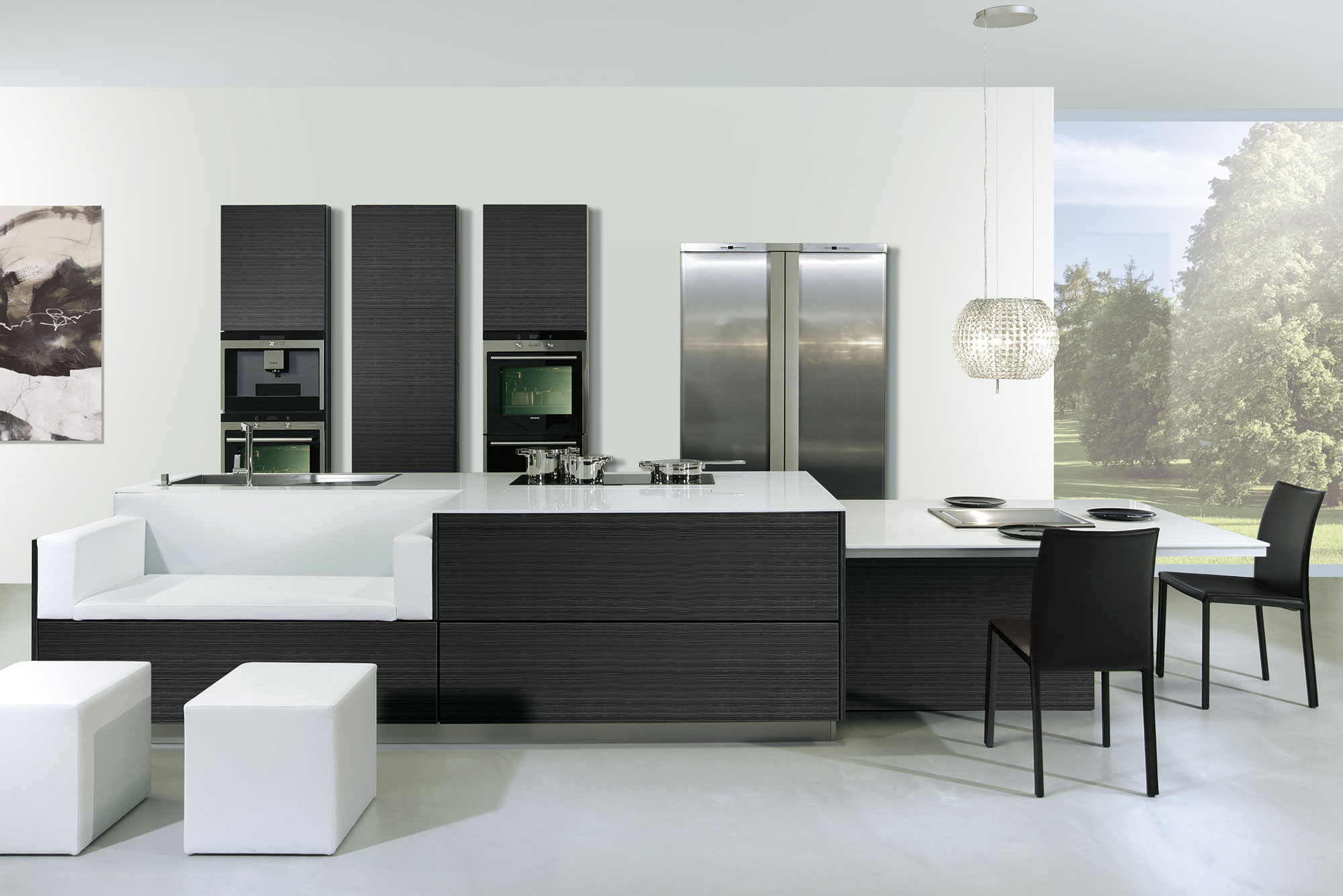 wohnk chen einbauk chen in deutschland geplant und produziert. Black Bedroom Furniture Sets. Home Design Ideas