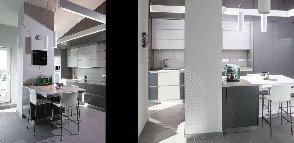 modere Wohnküche