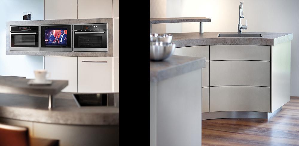 Details runde Küchen