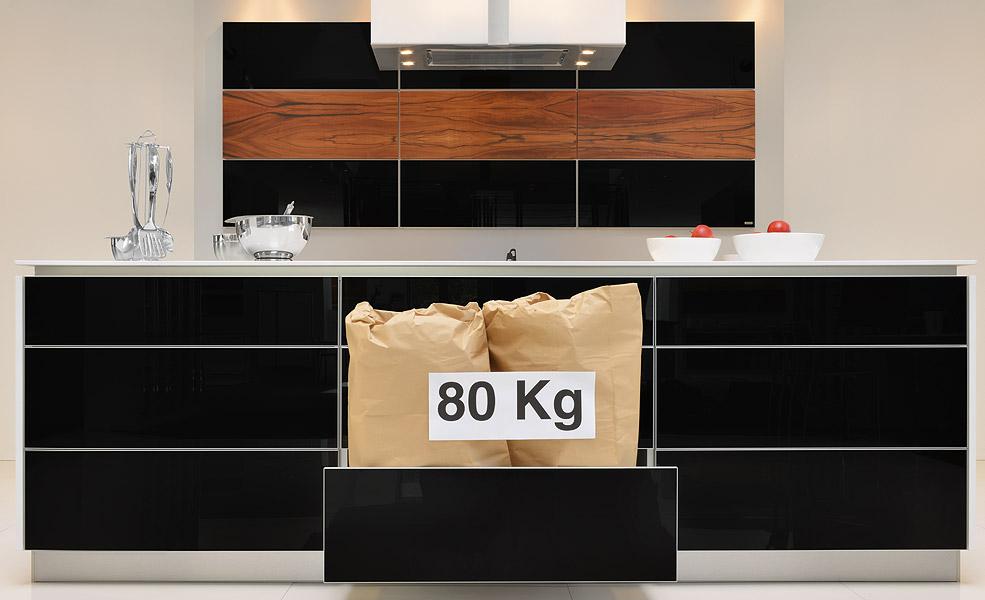 innovative ausz ge extrem belastbar von m ller k chen kassel. Black Bedroom Furniture Sets. Home Design Ideas