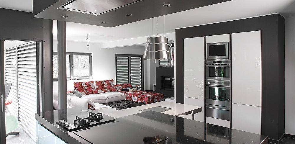 moderne Familienküche