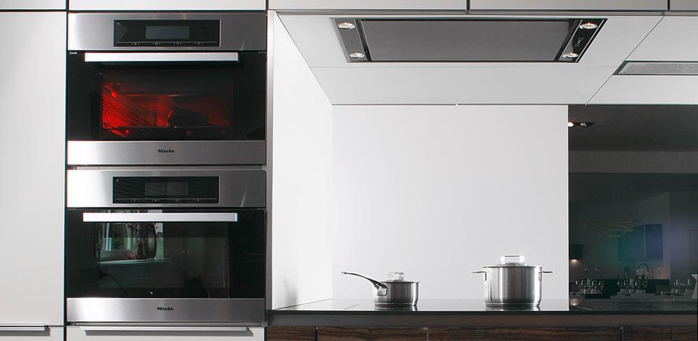 Detail Designküche Miele Geräte