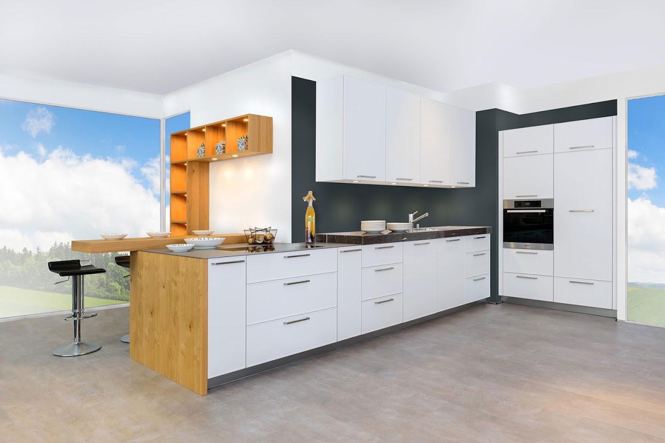 Küchenzeilen Küchenblöcke individuell geplant im Küchenstudio